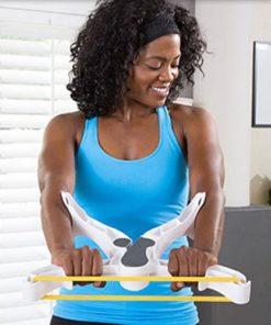 Femme utilisant wonder bras