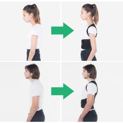correcteur de posture avant après