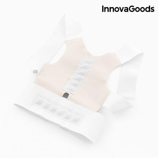 gilet redresse dos correcteur de posture magnetique reglable ajustable