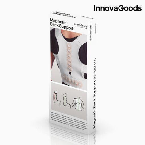 gilet redresse dos correcteur de posture magnetique reglable packaging