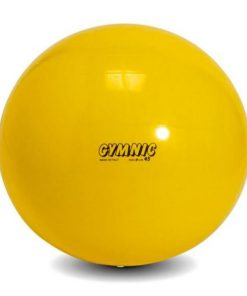 swiss ball moyen 45 cm de diametre jaune