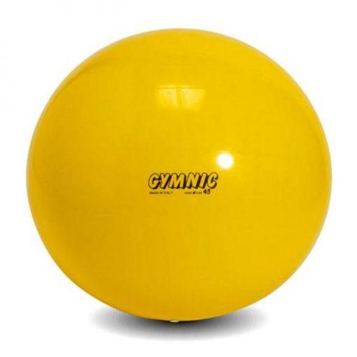 swiss ball moyen 45 cm de diametre jaune