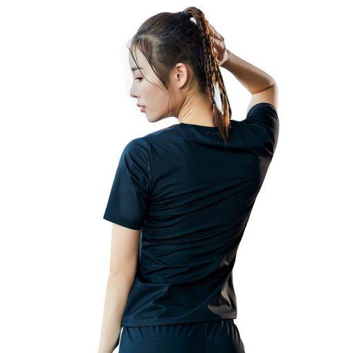 T-shirt de sudation manches courtes femme