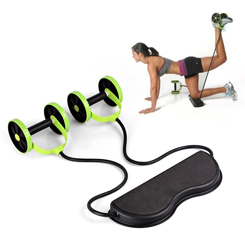 Fitness ABS Patins Machine Exercice Gym Abdominal Roue Corps Entraînement Force