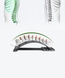 L'action de la civière dorsale sur la colonne vertébrale