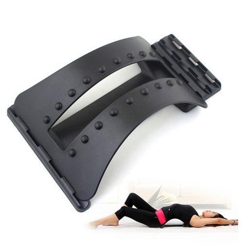 civière dorsale pour étirer le dos démonstration
