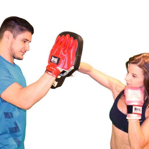 paire de pattes d'ours pour sports de combat metal boxe exemple d utilisation