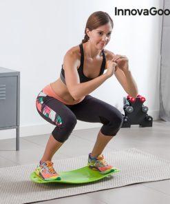 Planche d'équilibre squat