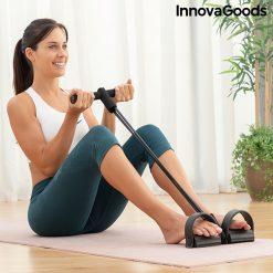 rameur elastique de musculation multi usages avec guide d exercices