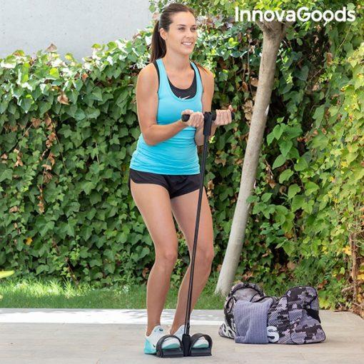 rameur elastique de musculation multi usages avec guide d exercices utilisation exterieur