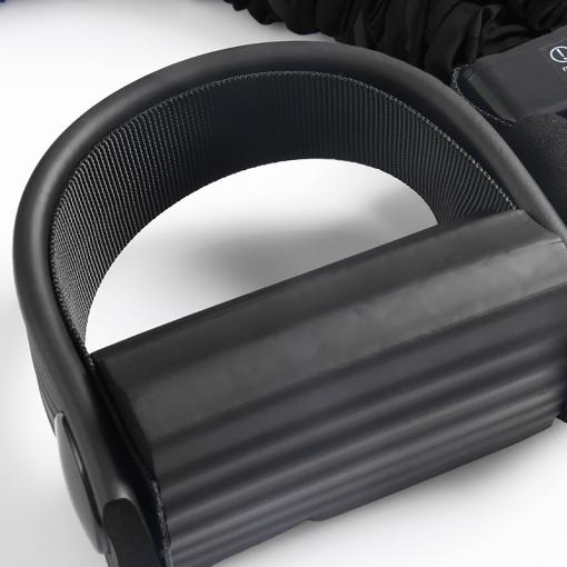 rameur elastique home fit rover noir pedale