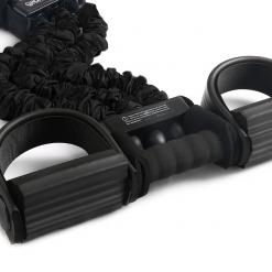 rameur elastique home fit rover noir pedalier