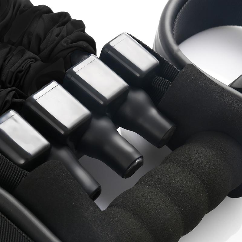 rameur elastique home fit rover noir reglage resistance