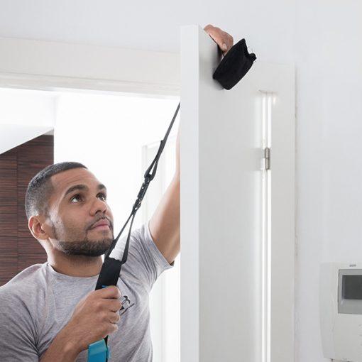 Sangles de suspension facile à installer à une porte