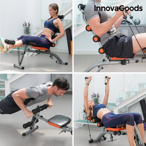 banc de musculation multifonction avec poids