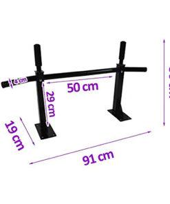 bar de traction fixation murale dimensions