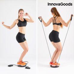 plateau tournant fitness squat