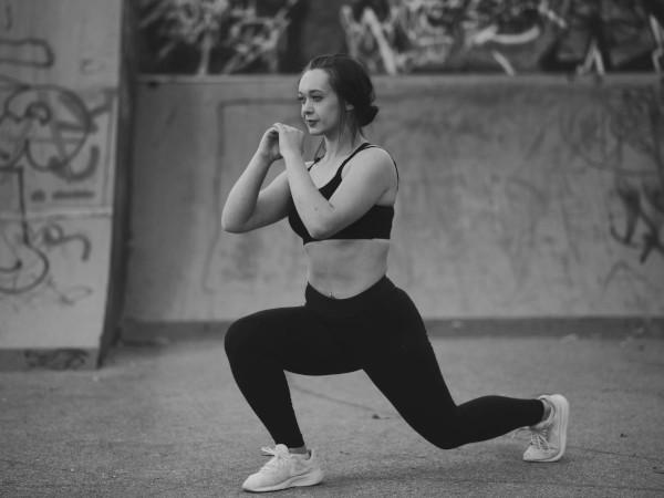 Exercice de fentes avant