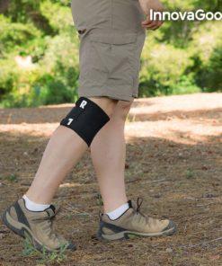 genouillère d'acupression utilisable pendant la marche