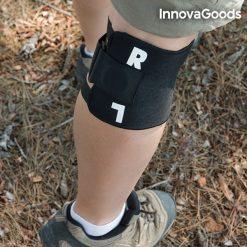 genouillère d'acupression utilisable en outdoor
