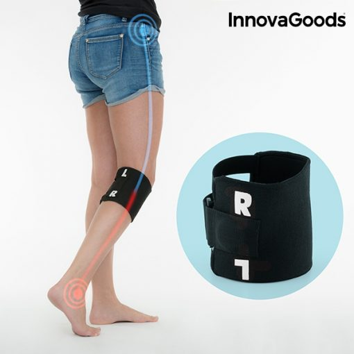 genouillère d'acupression jambe droite ou gauche