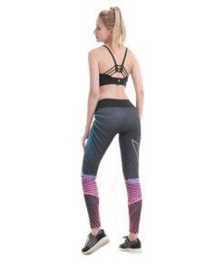 Legging de sport holofit pour femme vue arrière fond blanc