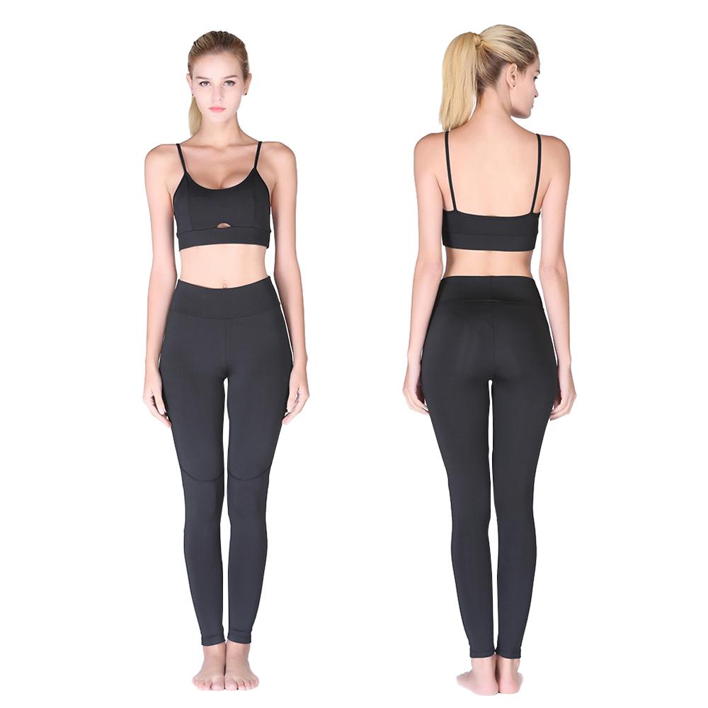 nouveau concept e355d a9506 Ensemble de sport pour femme legging + brassière ultra-doux Silkfit