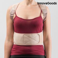gilet correcteur de posture redresse dos magnetique reglable