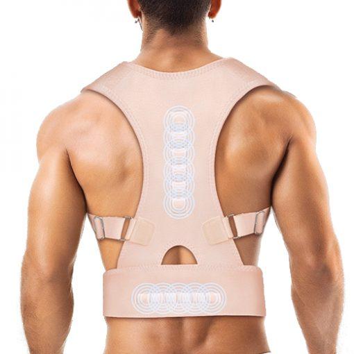 gilet correcteur de posture redresse dos magnetique homme