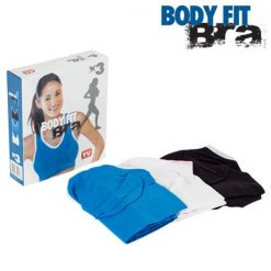 Brassières de sport femme Body Fit (lot de 3) packaging