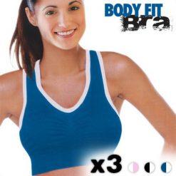 Brassières de sport femme Body Fit (lot de 3)