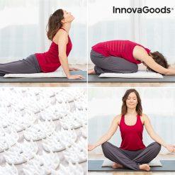 tapis d acupression positions yoga