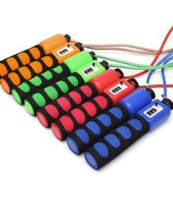 Corde à sauter fitness avec compteur physique de sauts 4 couleurs disponibles