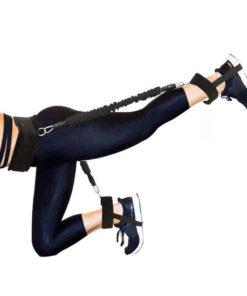 élastiques avec système de fixation pour faire des relevés de jambes
