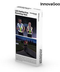 Gilet de sécurité réfléchissant à led packaging