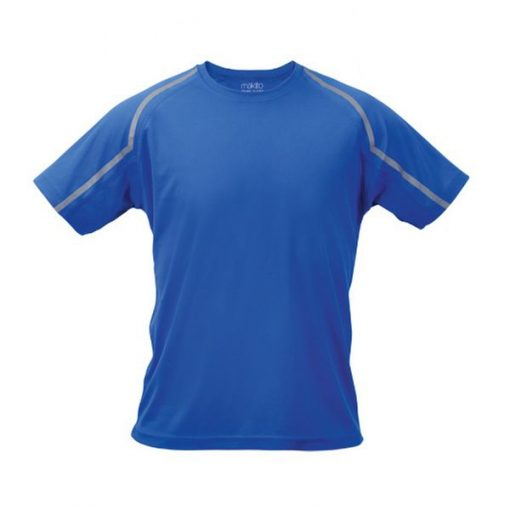 Tee shirt de sport pour homme anti transpirant bleu