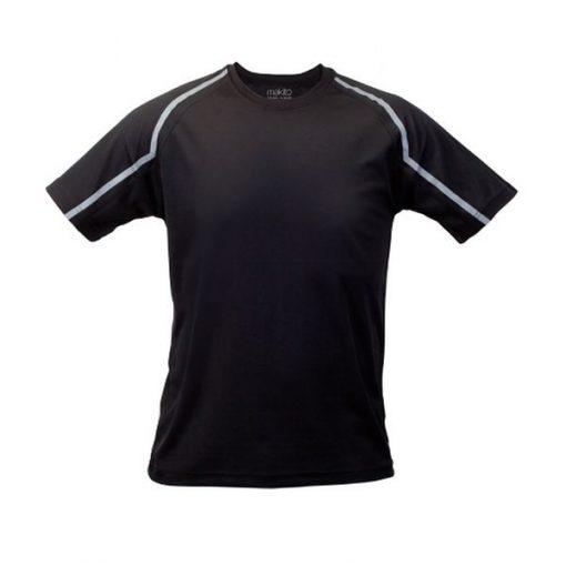 Tee shirt de sport pour homme anti transpirant noir