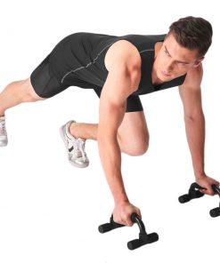 poignees pour pompes musculation avec sportif