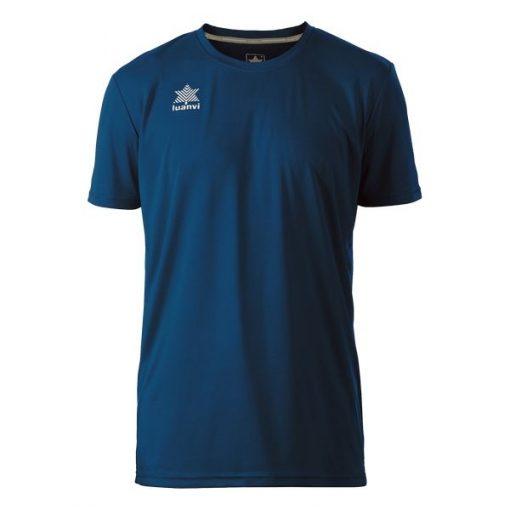 t-shirt sport manches courtes col rond pour homme luanvi