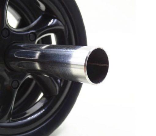 double roue abdominale zoom