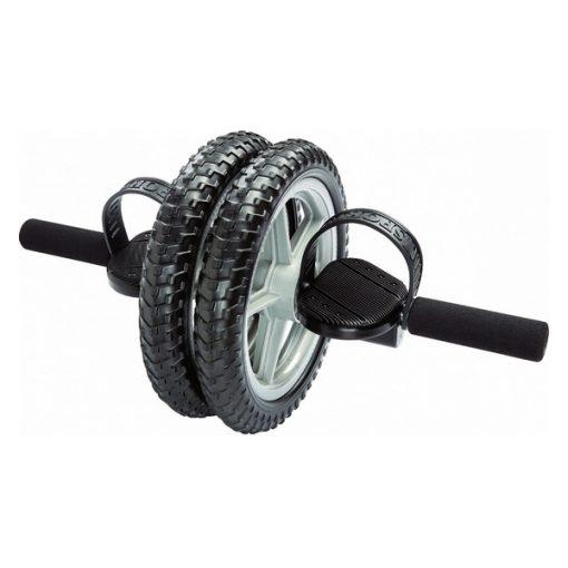 double roue abdominale pouvant être utilisée avec les pieds ou les mains
