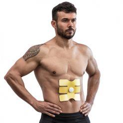 Patch d'électrostimulation pour abdominaux