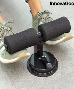 fixation des pieds pendant exercice abdominaux crunch