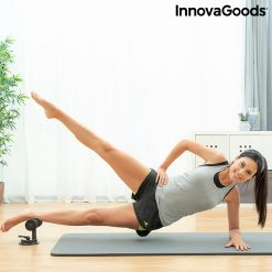 barre pour fixation des pieds pendant exercice abdominaux utilisation releve de jambes