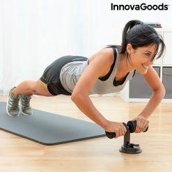barre pour fixation des pieds pendant exercice abdominaux utilisation pompes