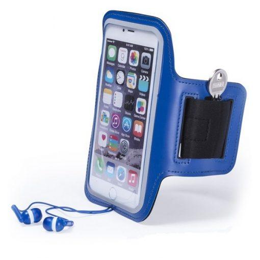 brassard smartphone running jogging bleu