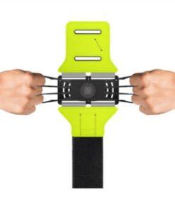 brassard smartphone ajustable grace à ses élastiques