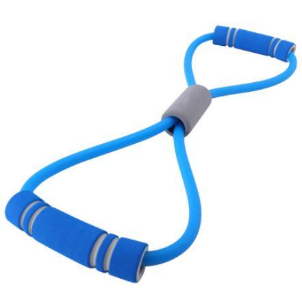 elastique fitness musculation resistance bleu