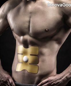Patch d'électrostimulation pour des abdominaux développés