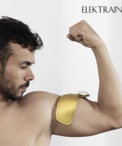 Patch d'électrostimulation pour bras